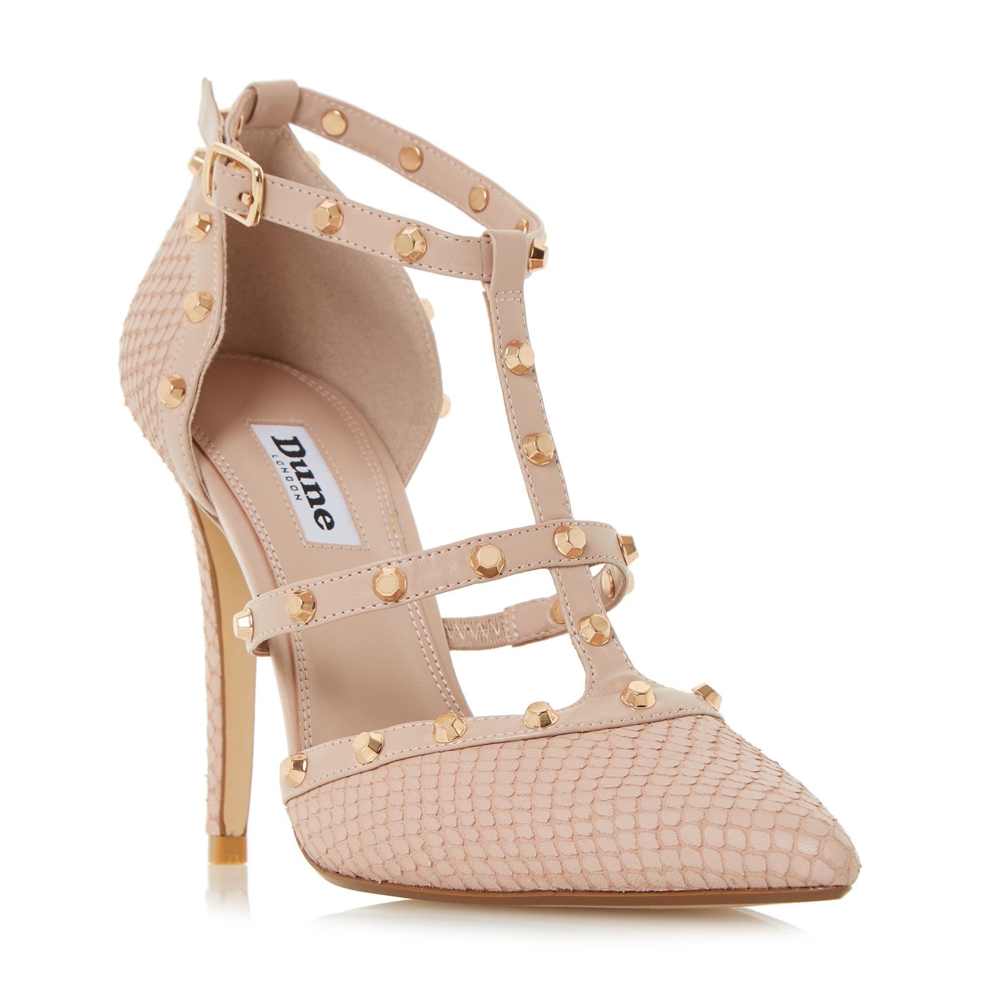 e3aa668bdff5a8 DUNE LADIES DAENERYS - Studded High Heel Pump - blush