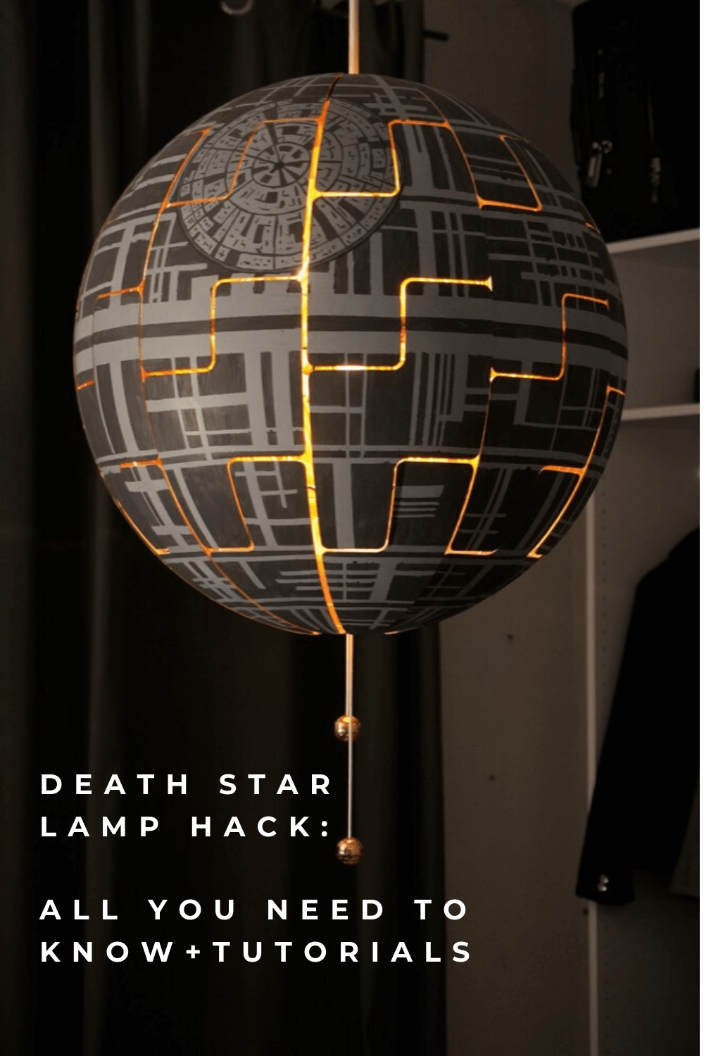 All you need to know about building a Death Star lamp IKEA