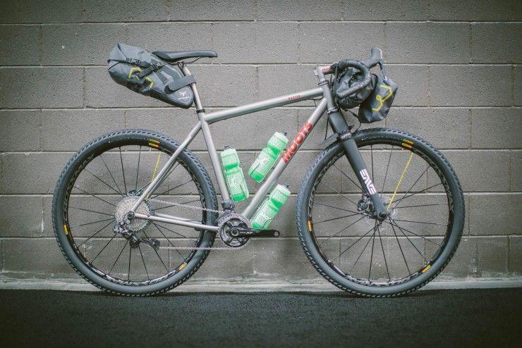 Moots Baxter, bikepacking bike