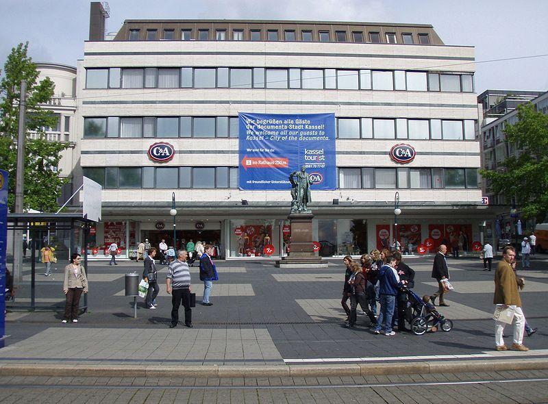 File:C&A shop in Kassel, Germany.jpg | Kassel, Germany