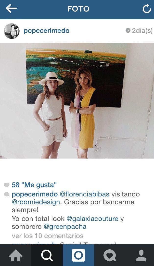 Roomie #popupstore #buenosaires #instagram Pope Cerimedo con sombrero Greenpacha panama campo handmade toquilla straw