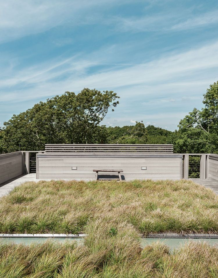 An Unconventional Prefab On Fishers Island Green Roof Landscape Design Landscape
