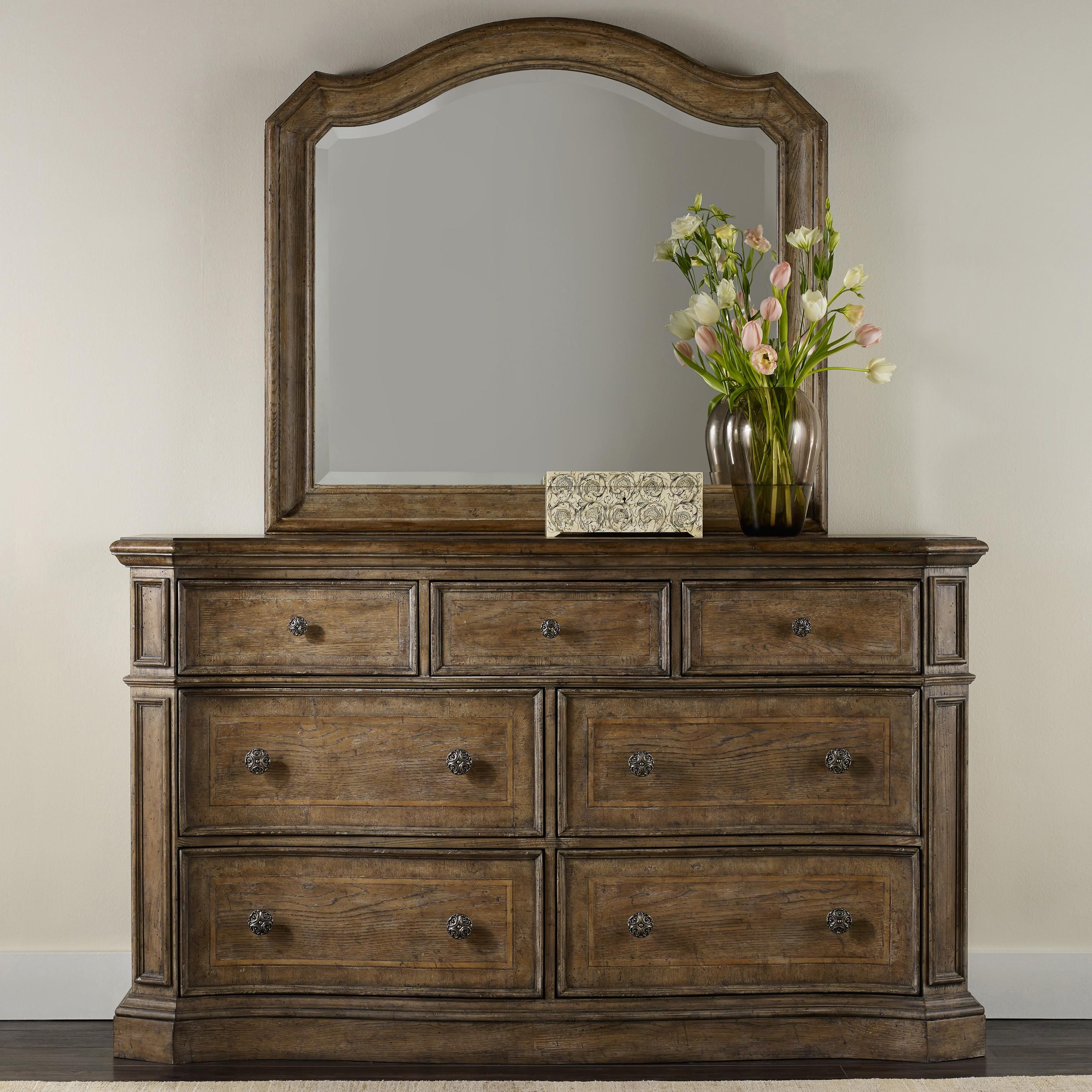 Solana Dresser And Mirror Set By Furniture