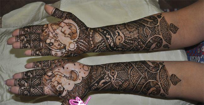 Mehndi Designs For Dulha : Fantastic bridal mehndi designs fashi