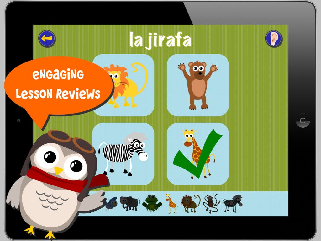 Spanish learning app for kids Spanish kids, Elementary
