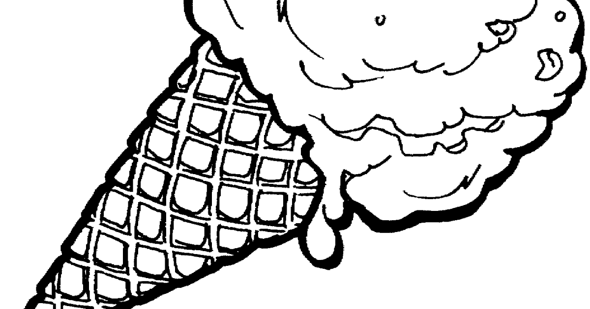 Black And White Ice Cream Cone Clipart Free 2 Ice Cream Coloring Ice Cream Sundae Black And White C Ice Cream Coloring Pages Ice Cream Clipart Coloring Pages