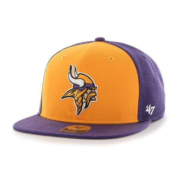 Minnesota Vikings Hat. Strapback Adjustable Hat. 47 Brand Cap. US Bank  Stadium. Skol Vikings! Not Pictured  Purple Strapback Adjustable Strap in  Back of Hat ... 9e8aa2942561