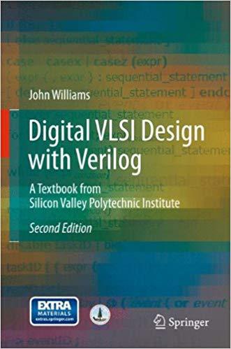 Digital VLSI Design with Verilog | Springer Nature | Design, Circuit