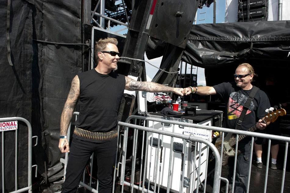 """From the """"Orion Music + More Photos by Ross Halfin"""" album on Facebook by Metallica"""
