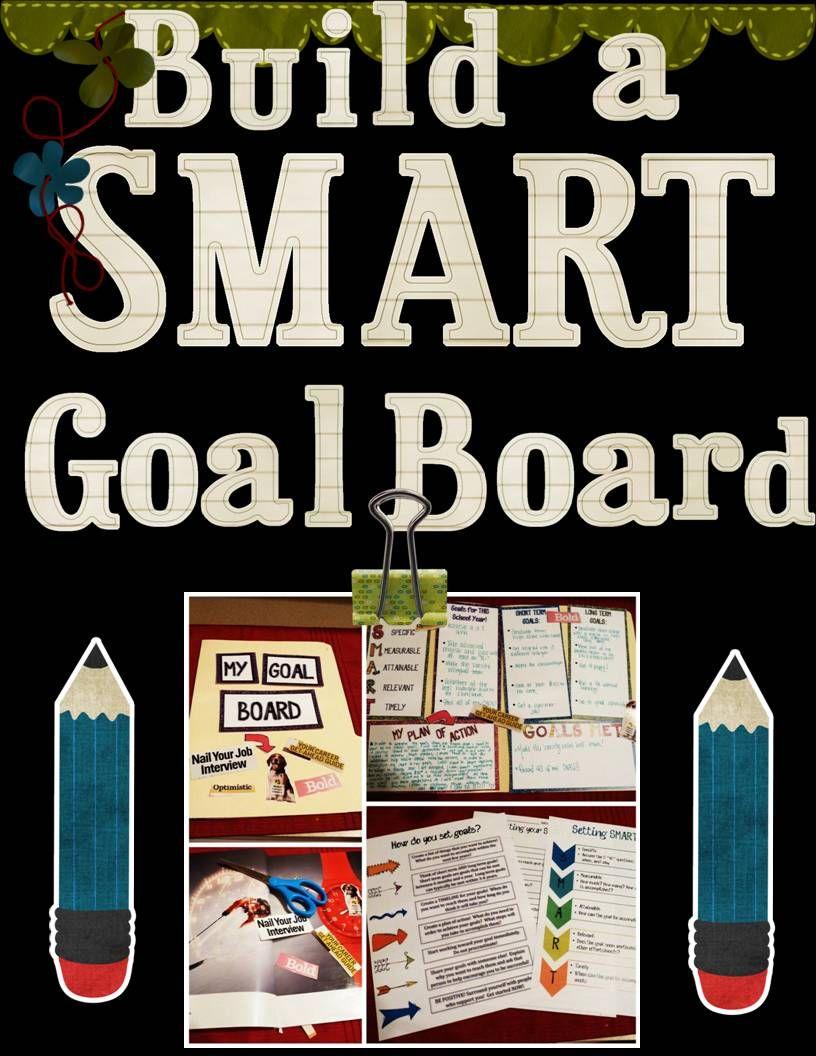 Create a SMART Goal Board Edworld Exchange Where