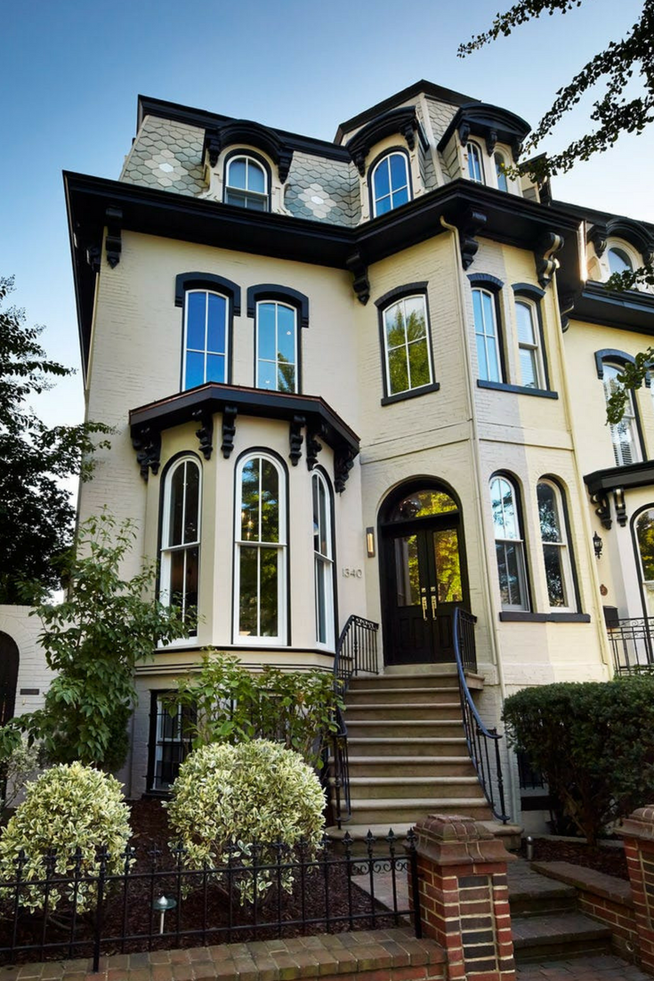 12 Exterior House Colors That Will Be Huge In 2020 Modern Victorian Homes Victorian Homes House Exterior