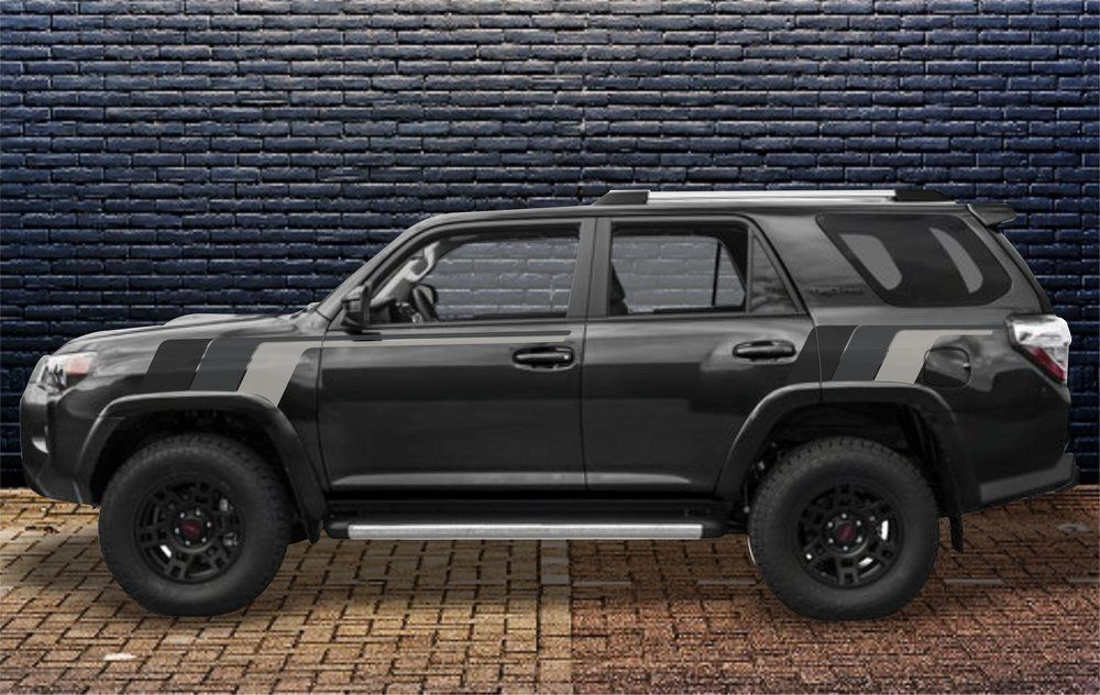 Kit Toyota 4runner Trd Back To The Future Monochrome Retro