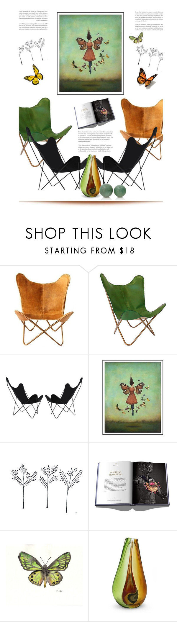 """""""Butterfly'"""" by dianefantasy ❤ liked on Polyvore featuring interior, interiors, interior design, home, home decor, interior decorating, Lotus Arts de Vivre and NOVICA"""