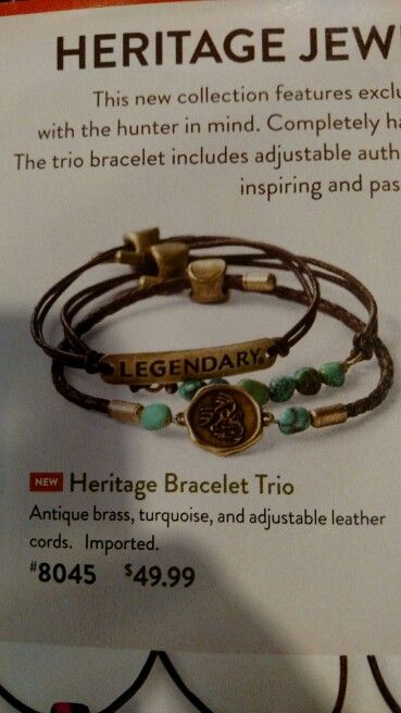 Heritage Bracelet Trio