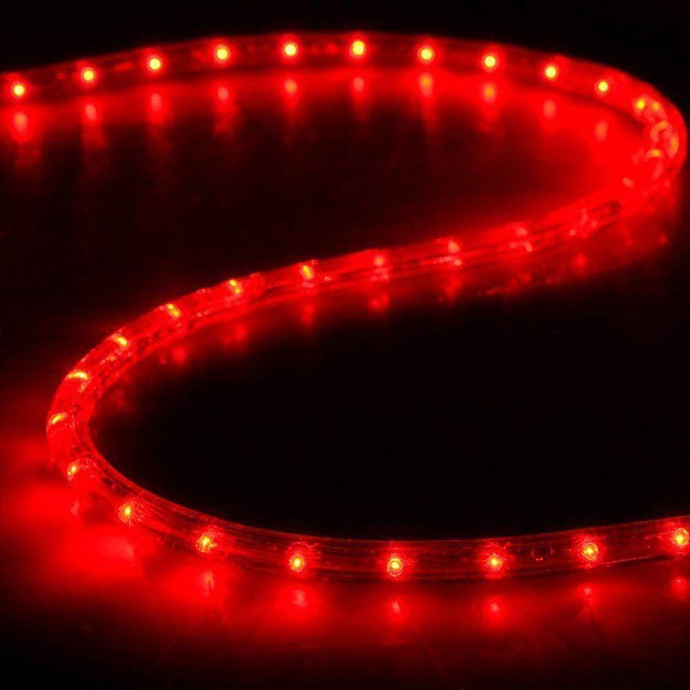 Boshen Led Rope Strip Lights For Home Parties Weddings Christmas Decoration 36 Leds 3 28ft 110v Flexible Rainbow Tube Light Led Rope Tube Light Strip Lighting