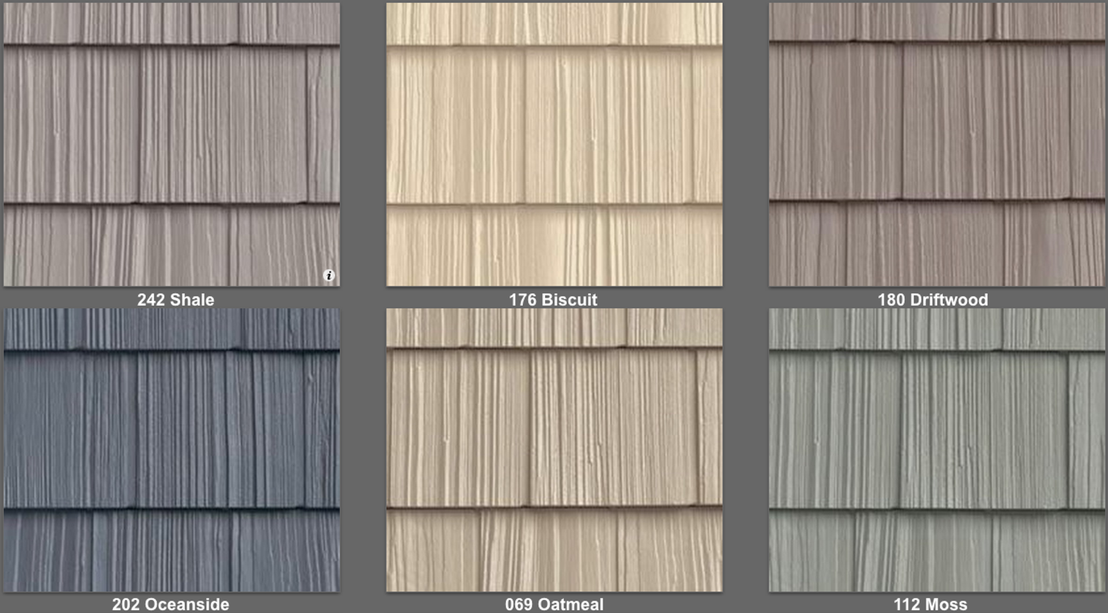 Details About Vinyl Siding Foundry Split Shake Like Real Cedar