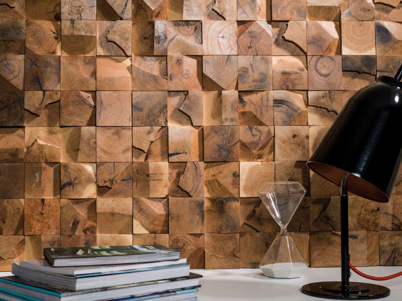 porcelanosa - carreaux mosaïque wood cubes 32x32x1,9cm   Своими