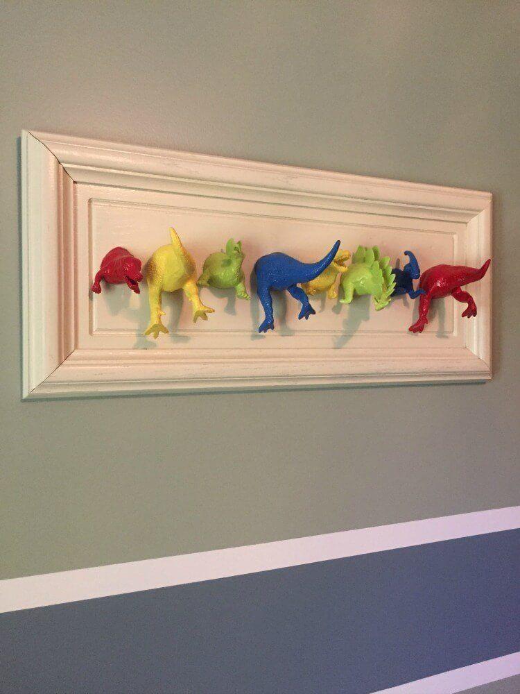 10 Kitschy And Crafty Diy Dinosaur Ideas For Kids And Adults Dinosaur Room Decor Kids Wall Decor Dinosaur Boys Room