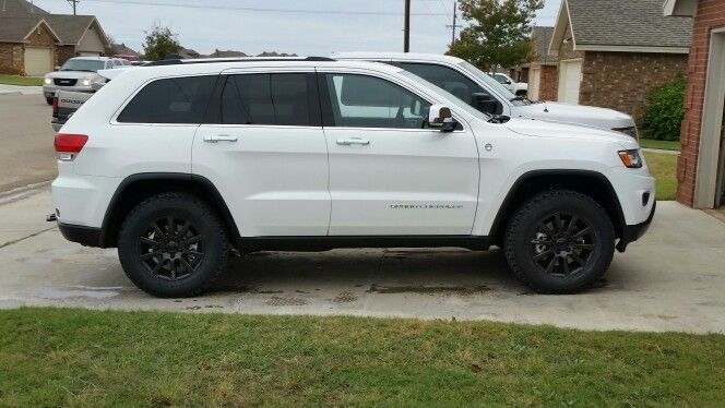 2015 Jgc Leveling Kit With 265 Bfg S Jeep Grand Cherokee Jeep