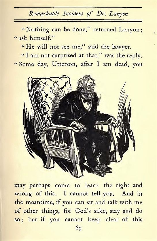The Strange Case Of Dr Jekyll And Mr Hyde Illustrated By Charles