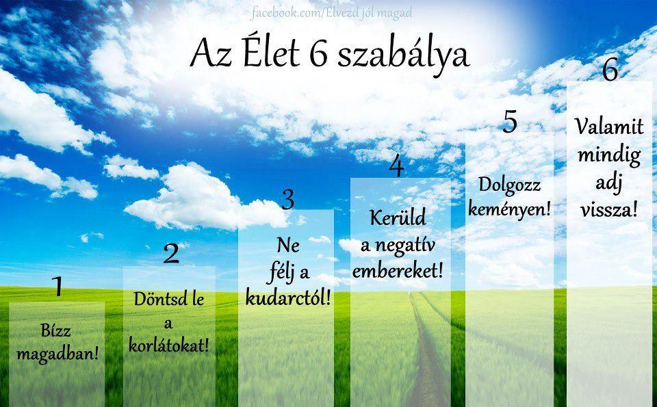 kemény élet idézetek az élet 6 szabálya | Motiváció, Motiváló idézetek, Motivációs idézetek