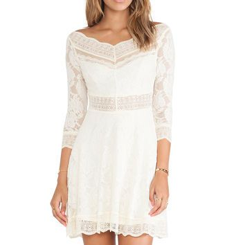 Free People Lacey Affair Dress
