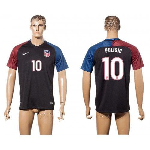 United States Away 10 Pulisic 2017-2018 Camiseta