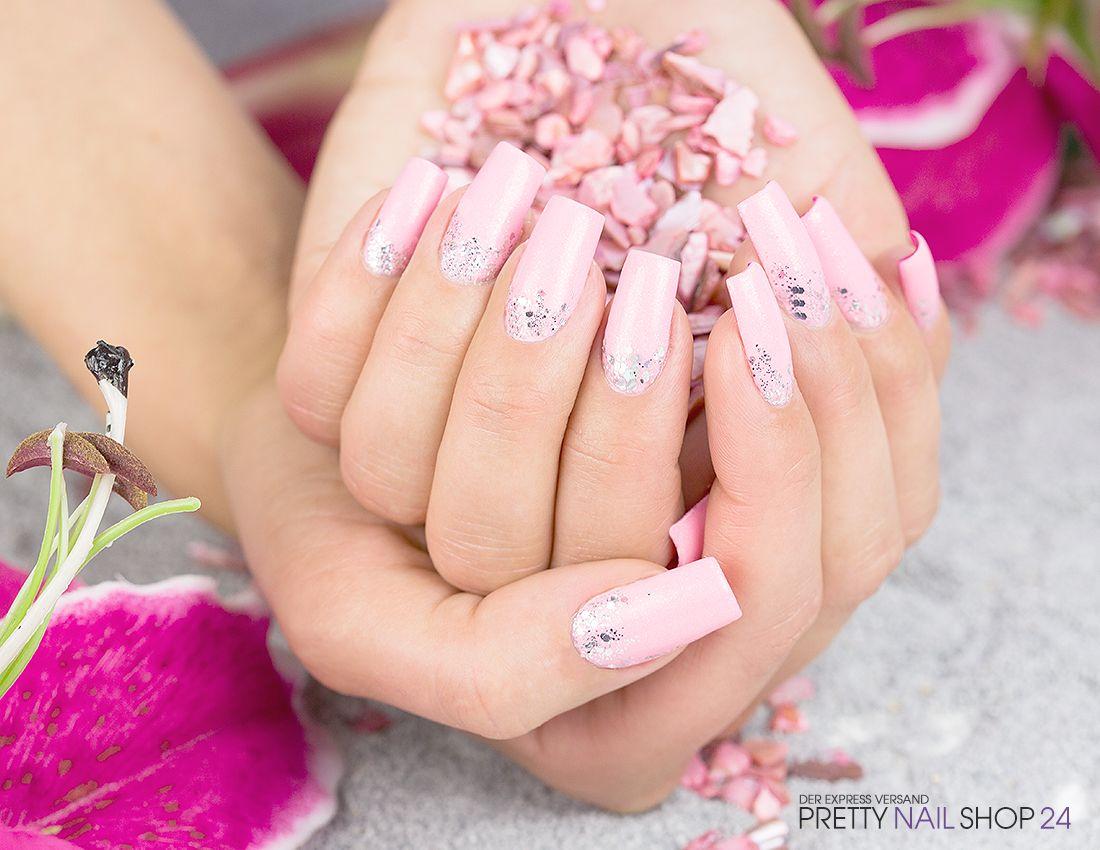 pink #nails #nailart #glitter Meine Kollegin Kristina liebt ihre ...