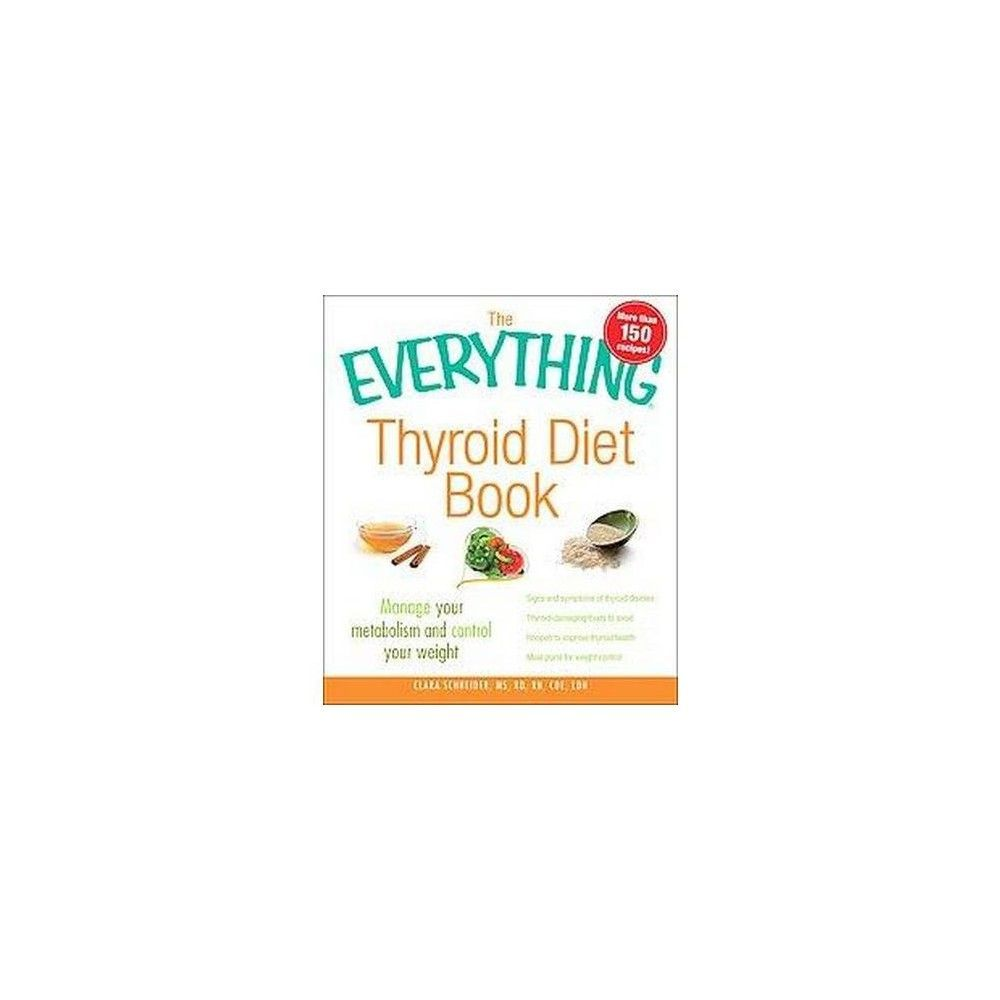 The Everything Thyroid Diet Book (Paperback)