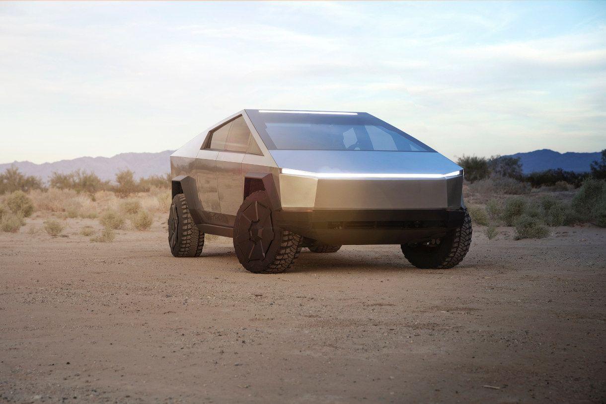 Cybertruck Erste Testfahrt Mit Dem Bisher Verrucktesten Tesla Welt Elektroauto Tesla Tesla Roadster