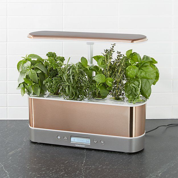 Aerogarden Harvest Elite Slim Copper Indoor Garden 400 x 300