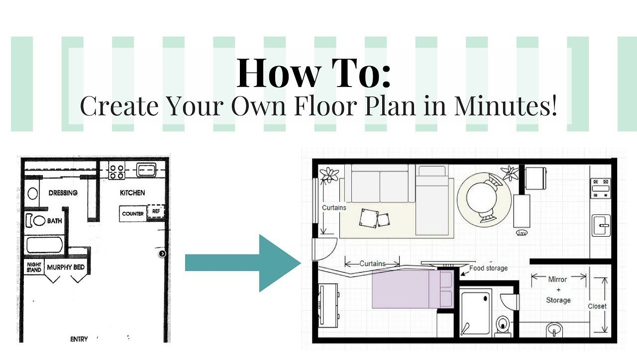 How To Create Your Own Floor Plan In Minutes For Free Draw Io Floorplans Floorplan Interiord Floor Plans Design Your Own Bathroom Bathroom Floor Plans