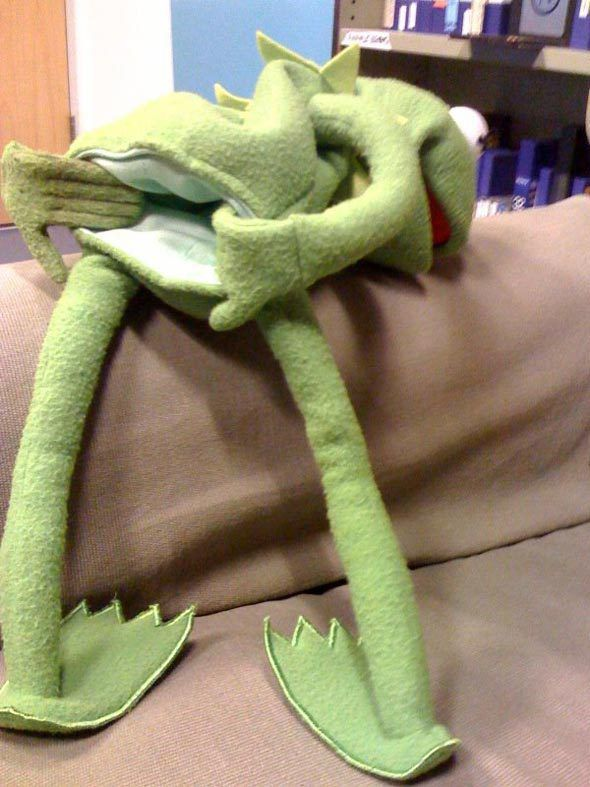 Kermit The Frog Reaction Couch Wwwpicswecom