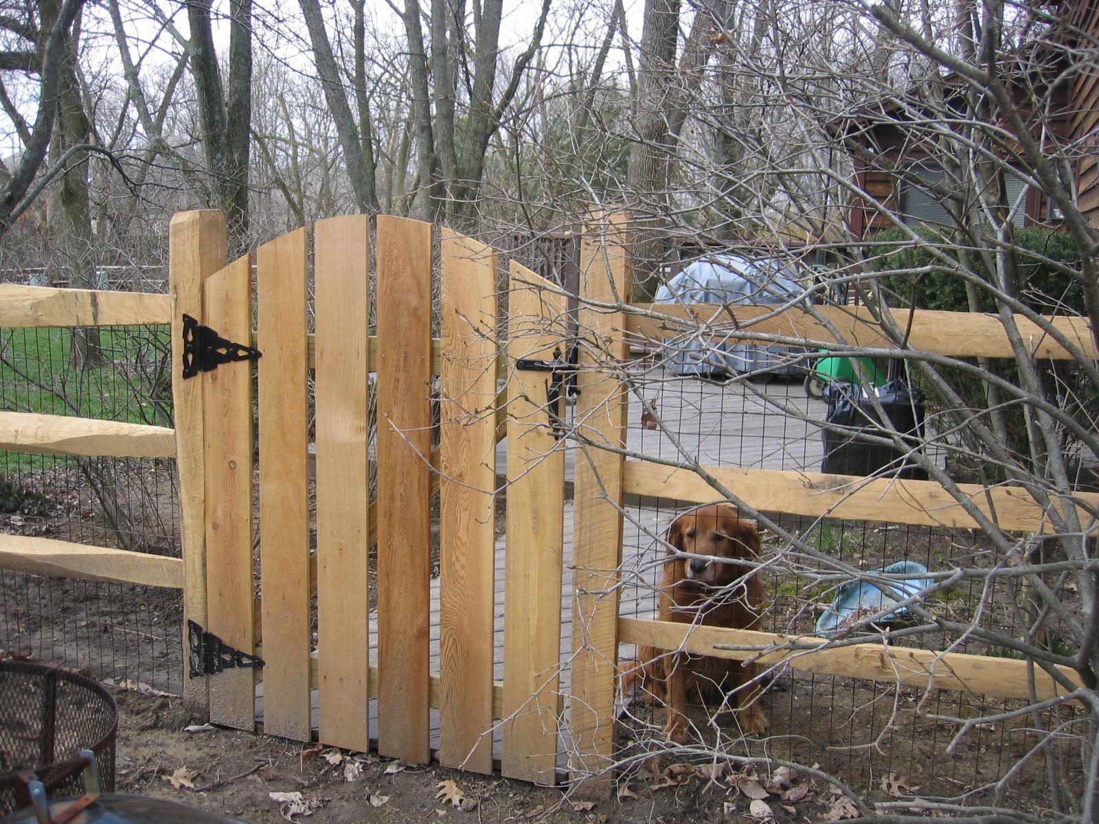 Cedar Fence Gate Designs