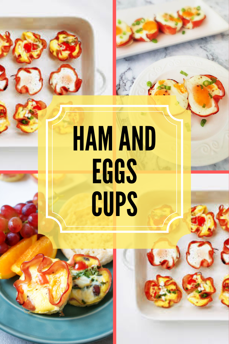 there's nothing better than this ham and eggs cups recipe