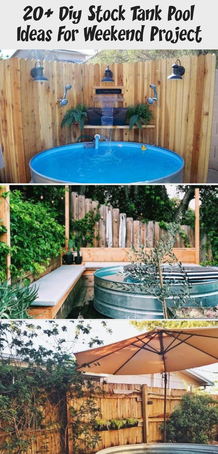 20 diy stock tank pool ideas for weekend project