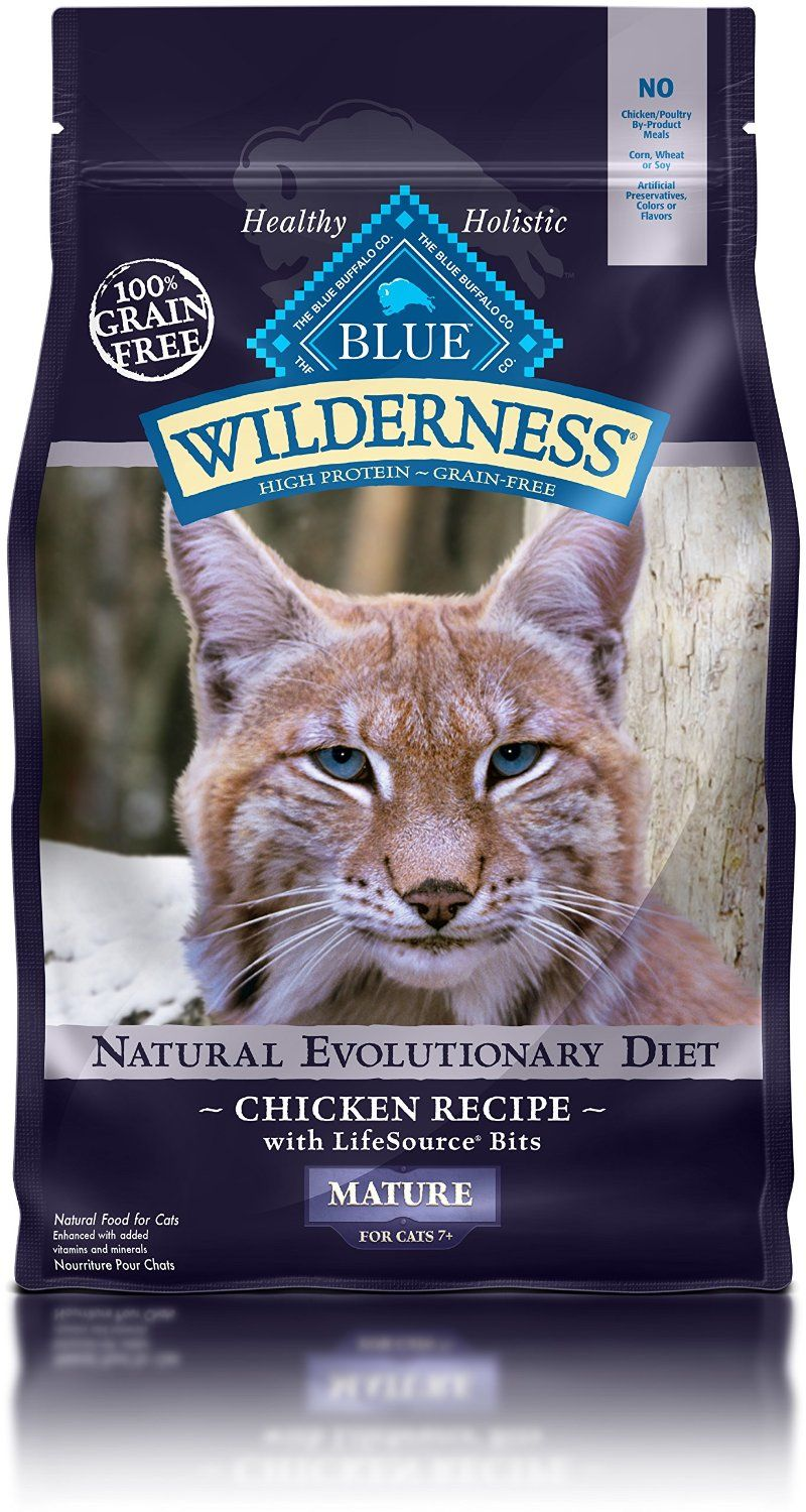 Blue Buffalo Wilderness High Protein Dry Senior Cat Food Quickly