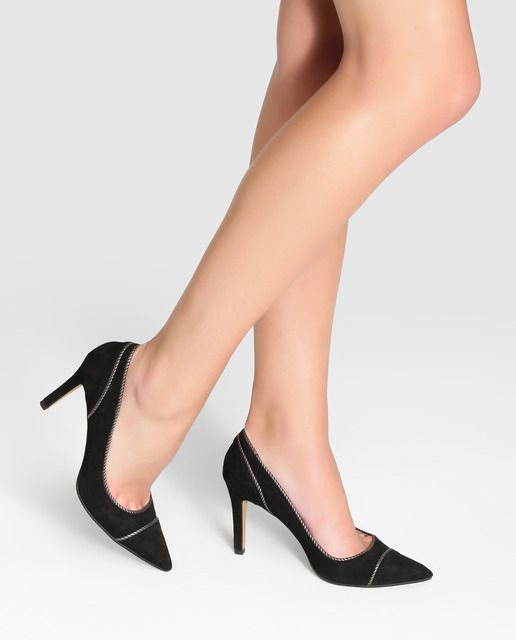 De En Calle qS6Ua Negros Lodi Ante Mujer Zapatos Moda Salón xOvH4