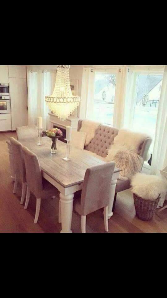 espace salle à manger, très chic *.*