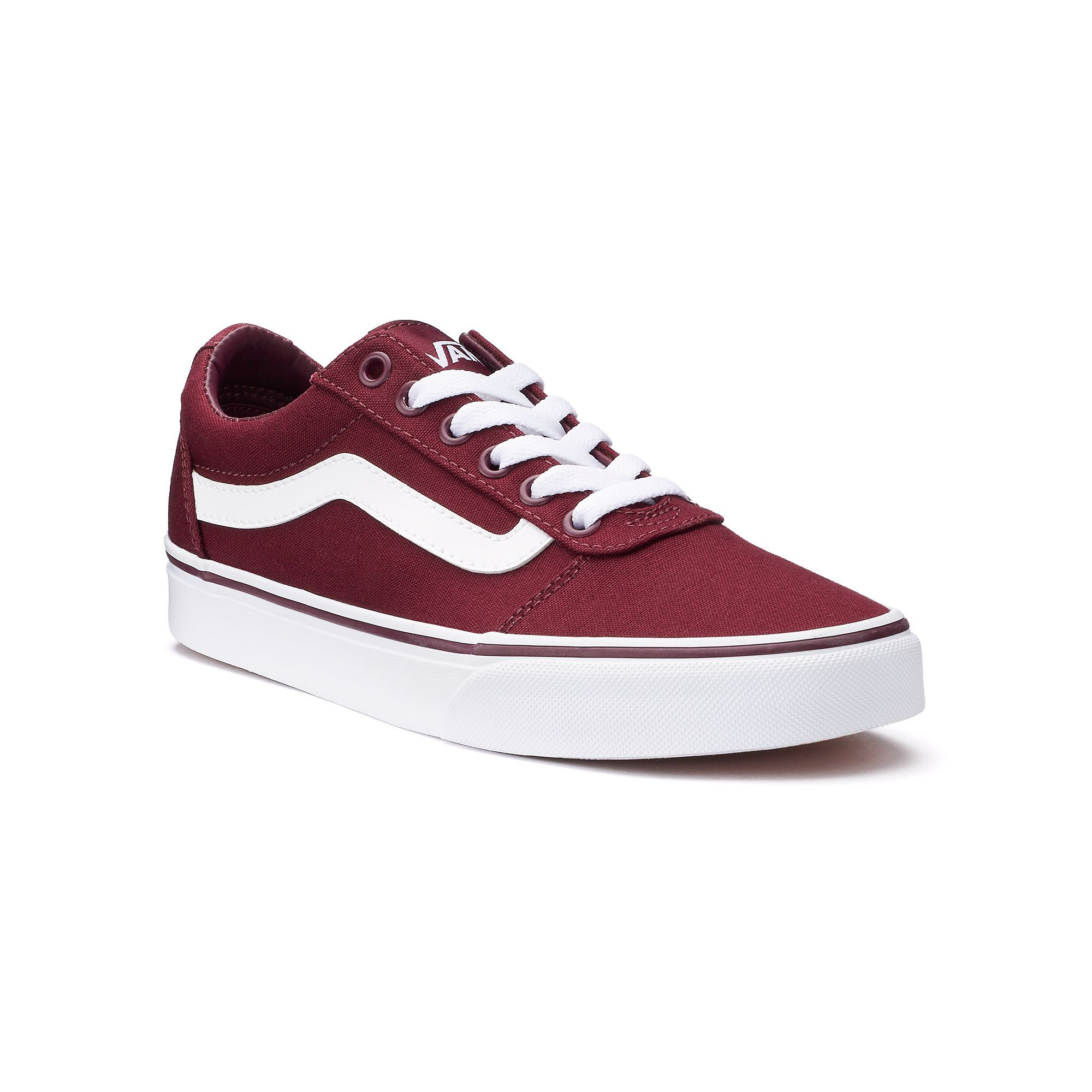 31162937474a00 Vans Ward Women s Canvas Skate Shoes