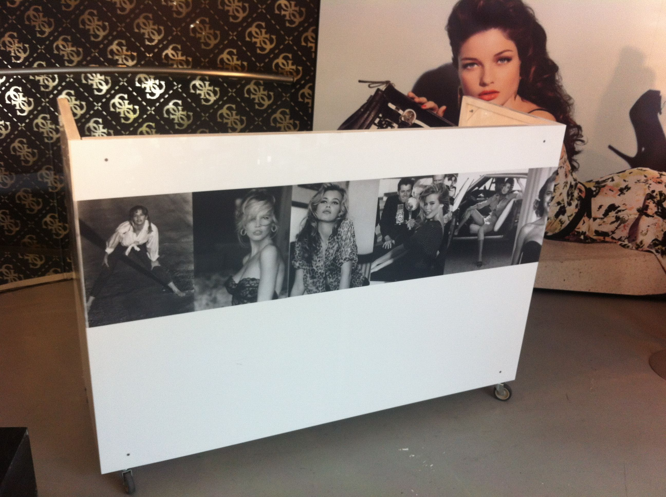 One of the many ways our DJ Booths can be personalized for an event.