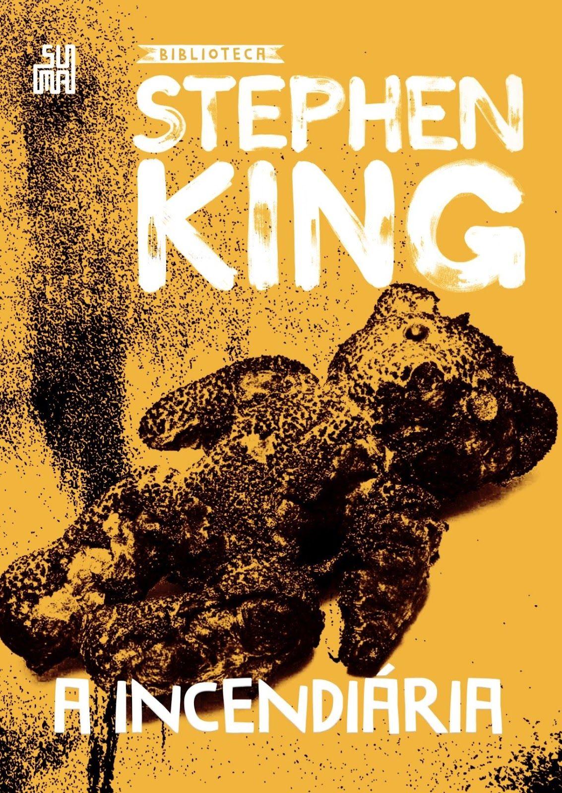 Pre Venda A Incendiaria De Stephen King Stephen King Livros