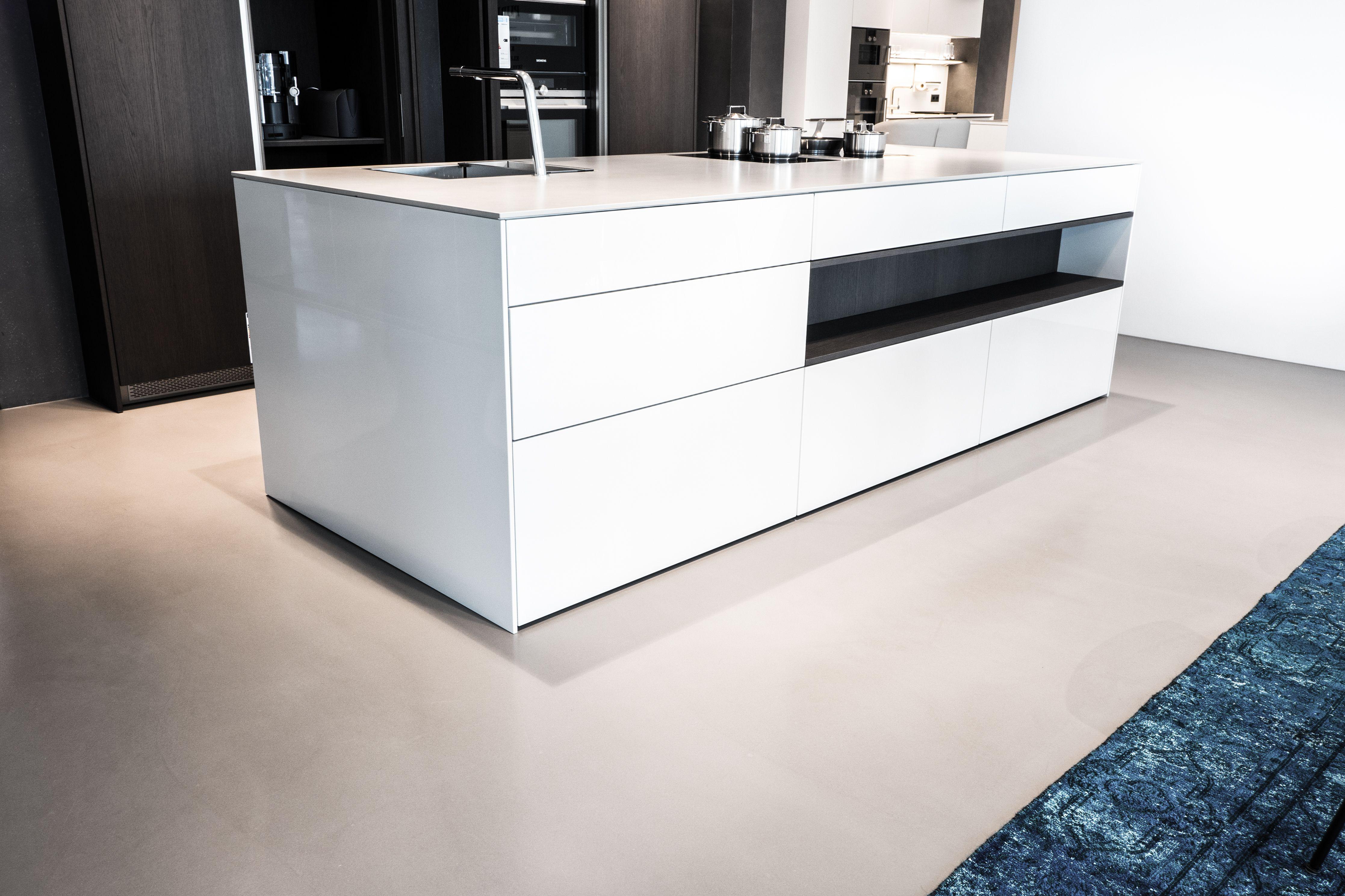 Creafloor Design Spachtel Kuche Designboden Sichtestrich Beton Kuchenboden Sichtestrich Beton Kuchenboden Kuchenboden