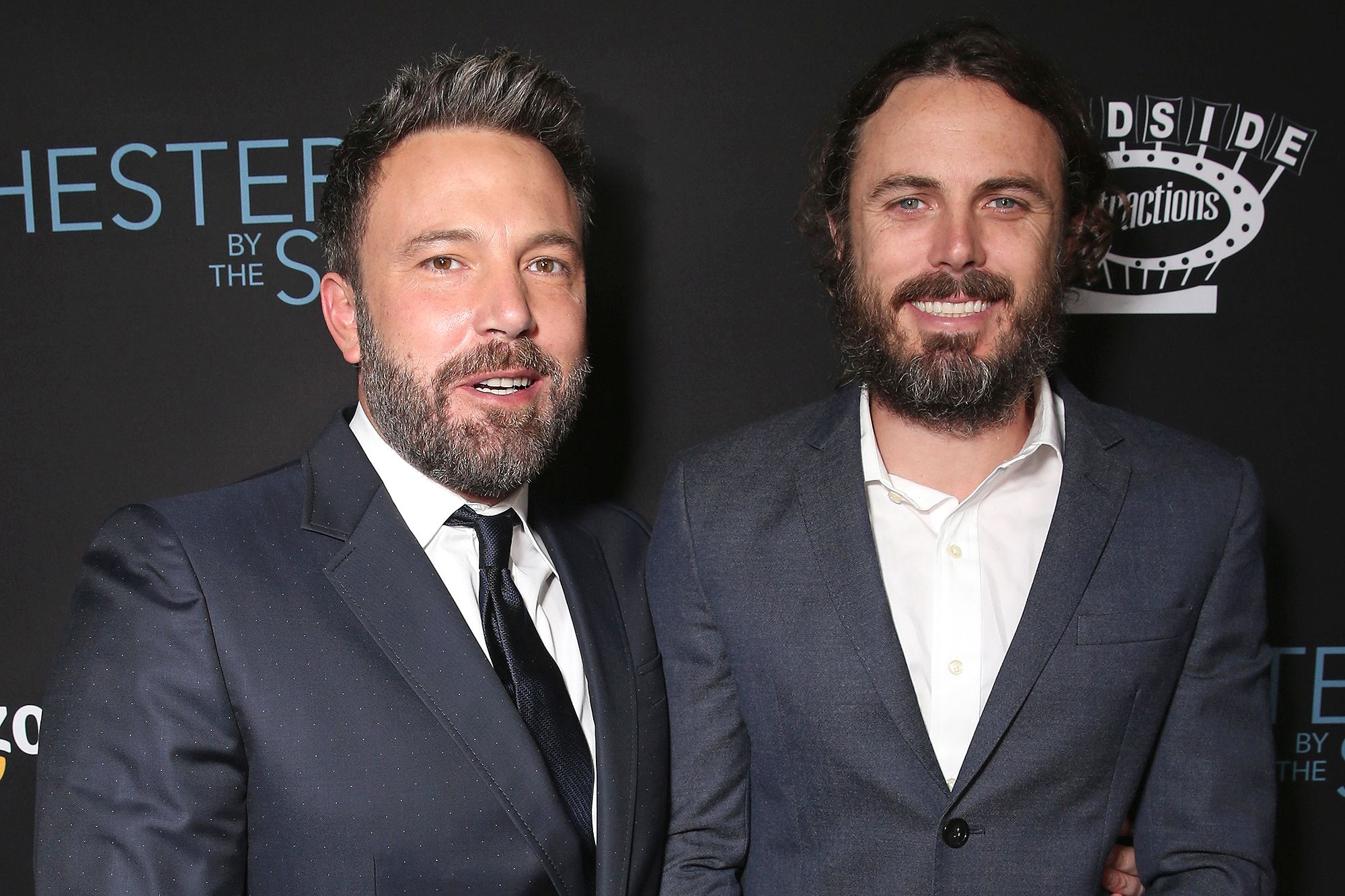 Ben Affleck Is Trying To Be Sober For His Kids Sake And For Their Mom Says Brother Casey Casey Affleck Manchester By The Sea Ben Affleck