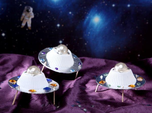 Ufos Weltraum Diy Basteln Mit Kindern Kindergeburtstag