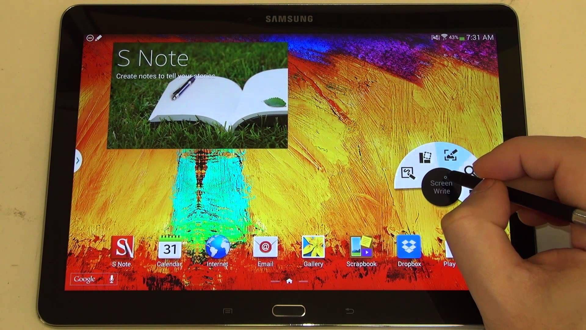 Samsung Galaxy Note 10 1 2014 Edition S Pen Demo Galaxy Note 10 Samsung Galaxy Note Samsung Galaxy 10