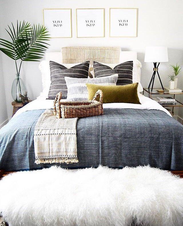 schöne schlafzimmer inspiration   Boho Vibes   stilvolles Zuhause   schönes Interieur   pl #bohowohnen
