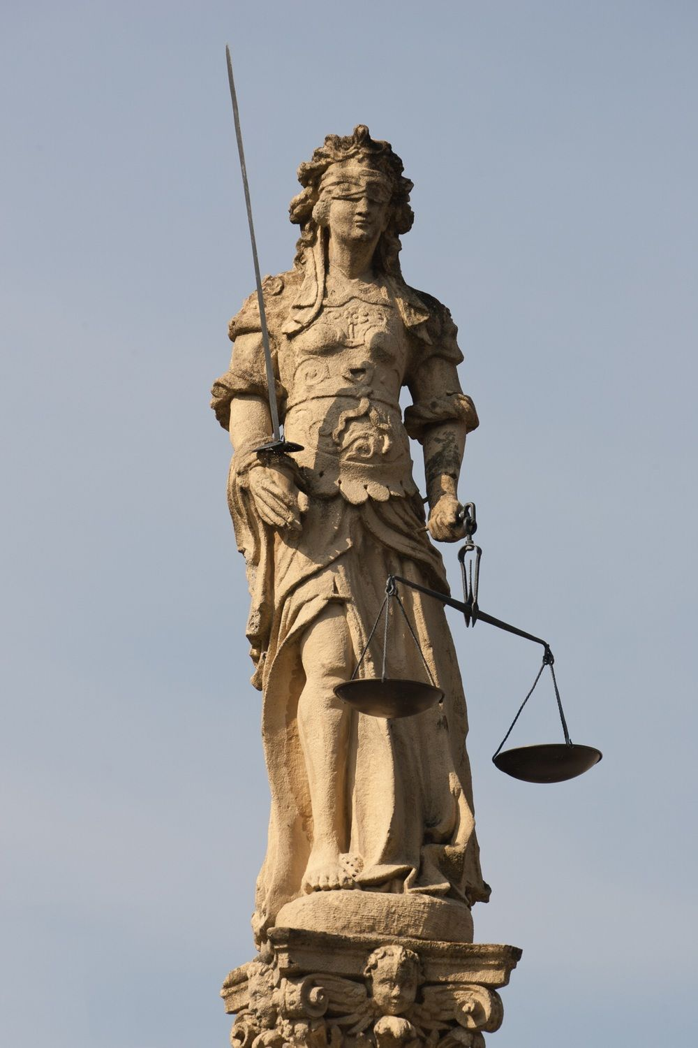 Balance In Transition Lady Justice Statue Justice Statue