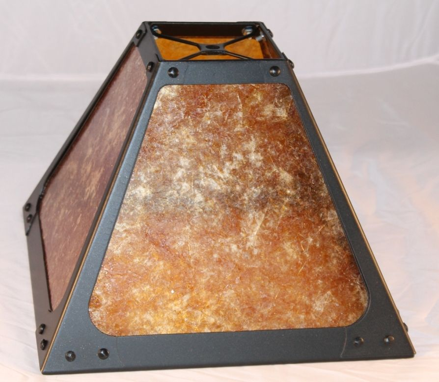 Mica Lamp Shade Square Dirk Van Erp Available Any Size In Amber Or ...