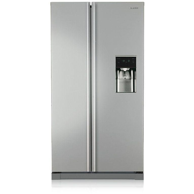 Rsa1rtmg aseries american style fridge freezer front